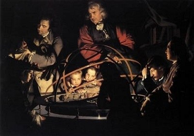 The Orrery by Joseph Wright.