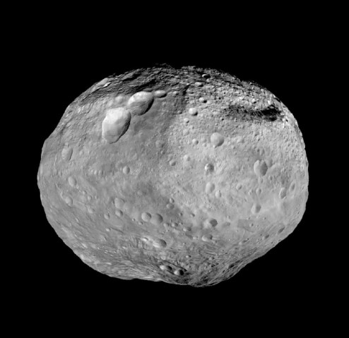 Photograph of Vesta.