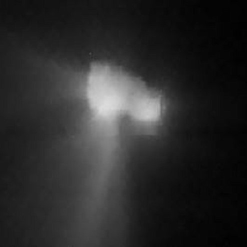 Halley's Comet, image from Vega 2