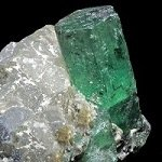 Photograph of emerald.