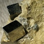 Photograph of pyrite.