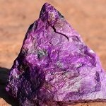 Photograph of sugilite.