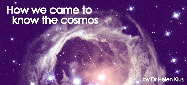Covers of How we came to know the cosmos: Space and Time and How we came to know the cosmos: Light and Matter