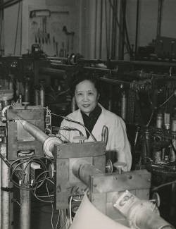 Photograph of Chien-Shiung Wu.