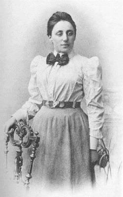 Photograph of Emmy Noether