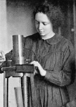 Photograph of Irene Joliot Curie